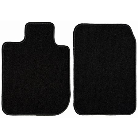 GGBAILEY Toyota Corolla Black Classic Carpet Car Mats / Floor Mats, Custom Fit for 2014, 2015, 2016, 2017, 2018, 2019 - Driver & Passenger Mats ()