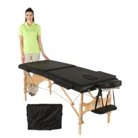 Exerpeutic Tahoe Heavenly Massage Table with Extended Side Arm Rests and Deluxe Carry Bag