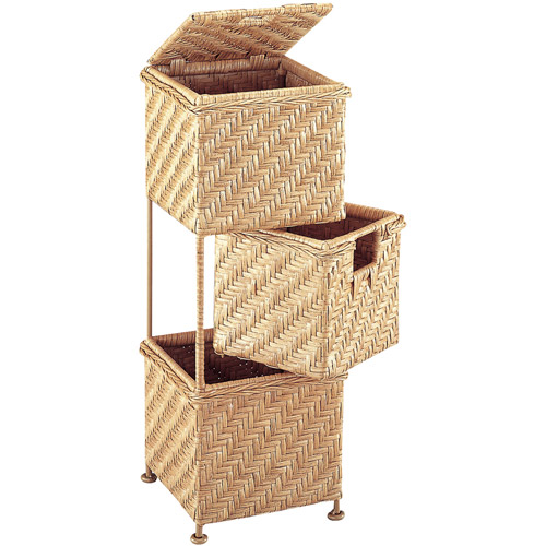 Neu Home 3-Drawer Swing Basket Unit
