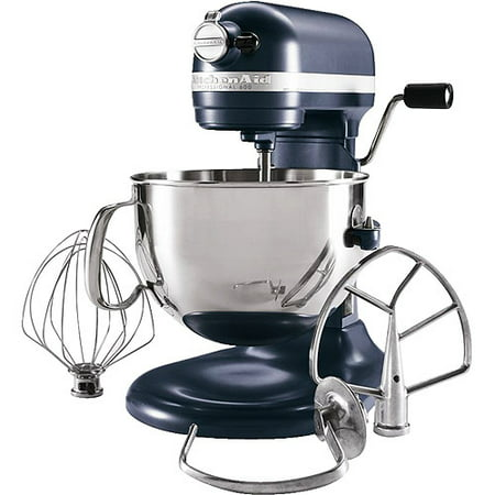 Professional Food Mixers - KitchenAid KP26M1XBS Professional 600 Series Blue Steel 6 Quart Bowl-Lift Stand Mixer