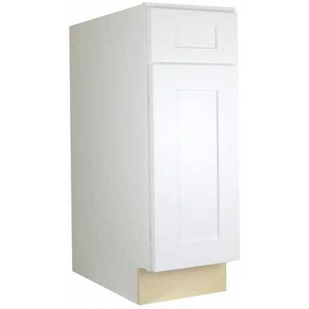 "Cabinet Mania: White Shaker - B09 - Base Cabinet 9"" Wide ..."