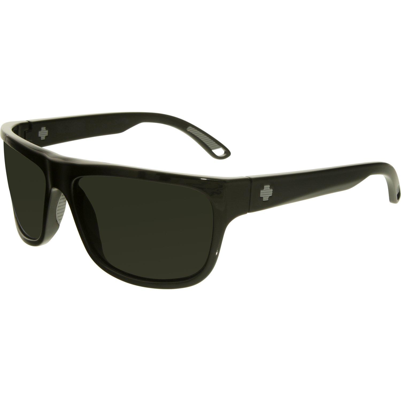 Spy Men's Polarized Angler 673237038864 Black Square Sunglasses