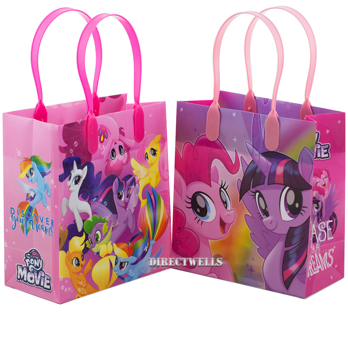 Little Pony Chase Your Dreams 12 Party Favor Reusable Goodie Small Gift Bags