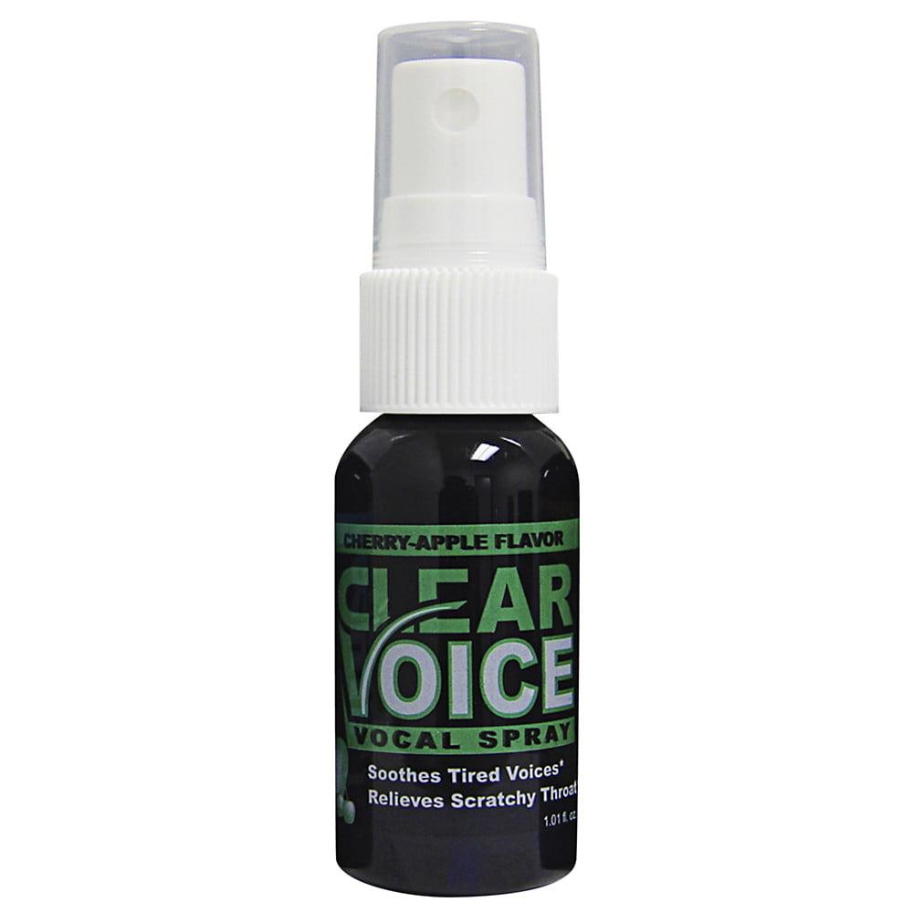 Clear Voice Vocal Spray Cherry Apple