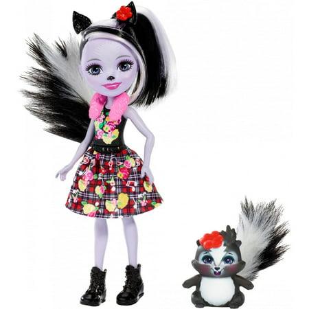 Enchantimals Sage Skunk Doll - Skunk Skeleton