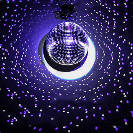 Efavormart Groovy Glass Mirror Disco Ball Party Decoration for Wedding Event Birthday Party Decoration