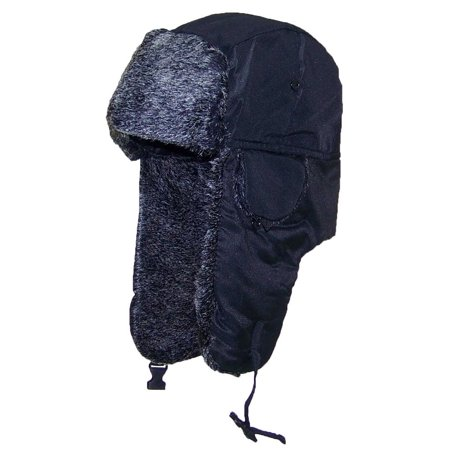 Best Winter Hats Men Lightweight Russian/Aviator Faux Fur Hat (One Size) -