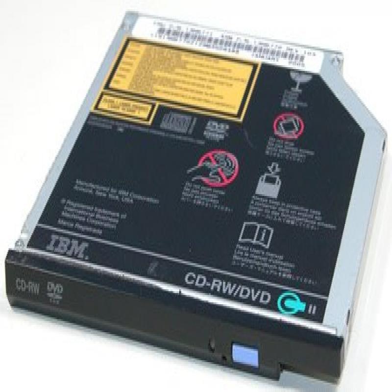 IBM 13N6771 FRU - Thinkpad CD-RW/DVD-ROM Combo II Ultrabay Slim Drive, Option 73P3288 73P3289