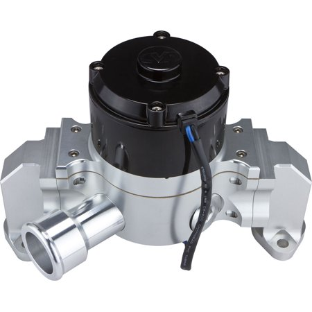 CVR Performance 8550CL Clear Billet Aluminum Electric Water - Billet Electric Water Pump