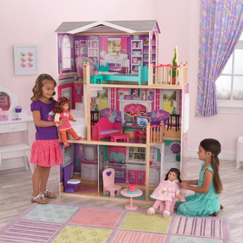 KidKraft Elegant 18-inch Doll Manor by Overstock