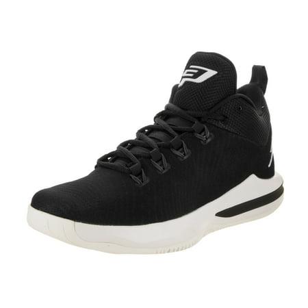 air jordan cp3.x ae basketball shoes black/white (8.5 d(m)