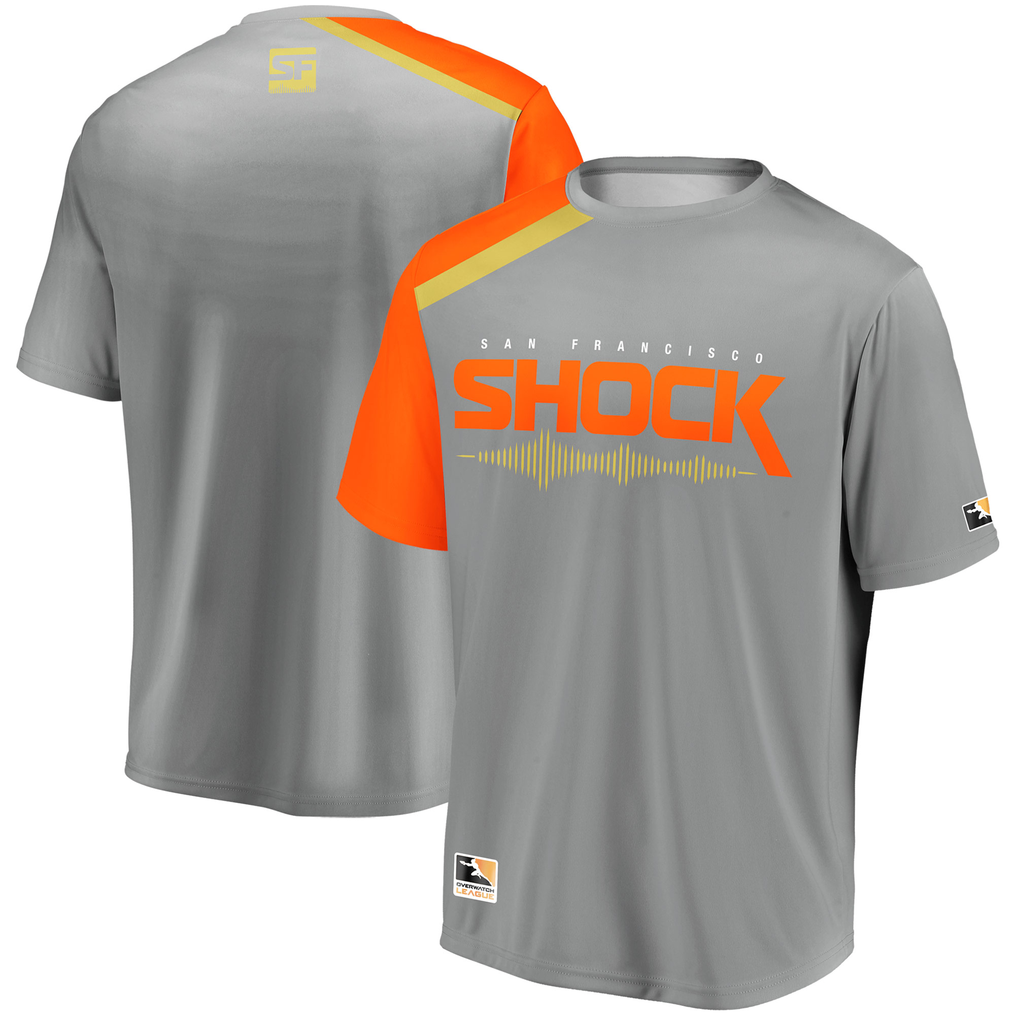 San Francisco Shock Overwatch League Replica Home Jersey - Gray