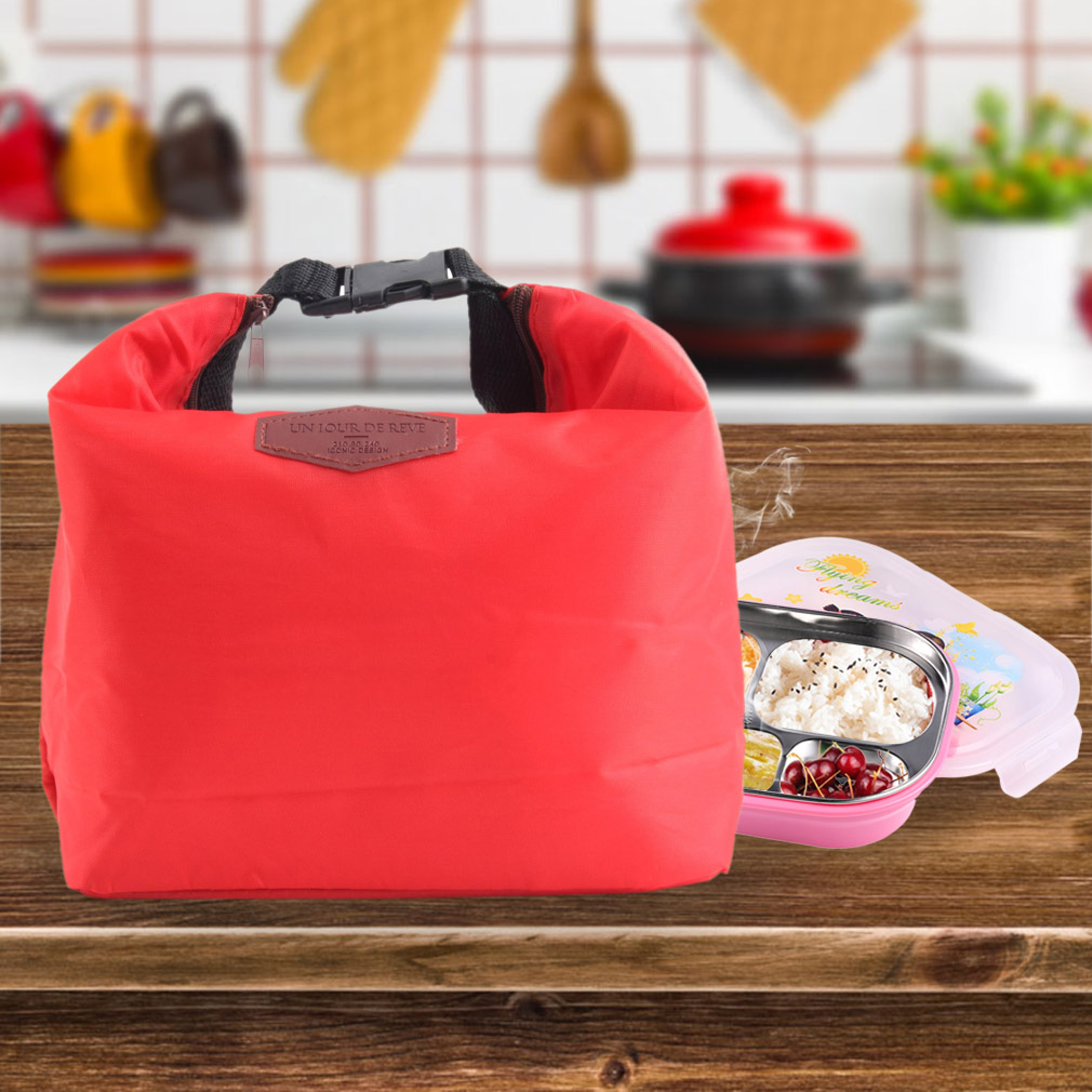 Thermal Insulated Cooler Waterproof Lunch Tote Storage Picnic Pouch Bag