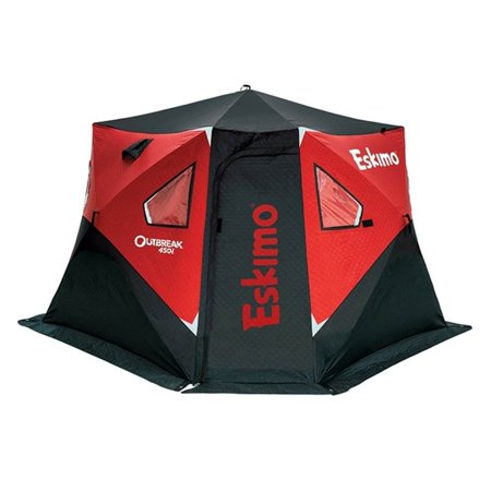 Eskimo Outbreak 450i 5 Person Portable Insulated Ice Fishing Tent House