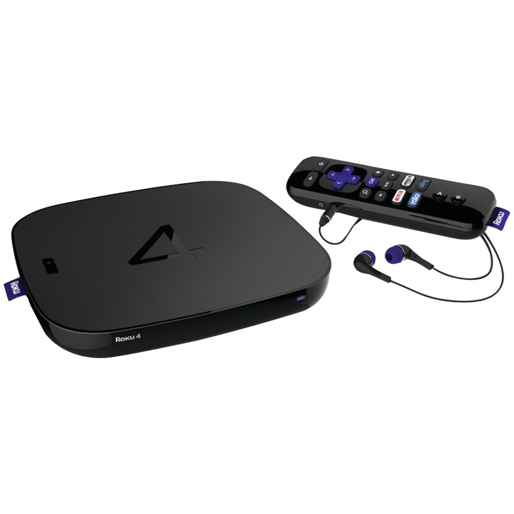 Roku 4400R Roku 4 Streaming Media Player