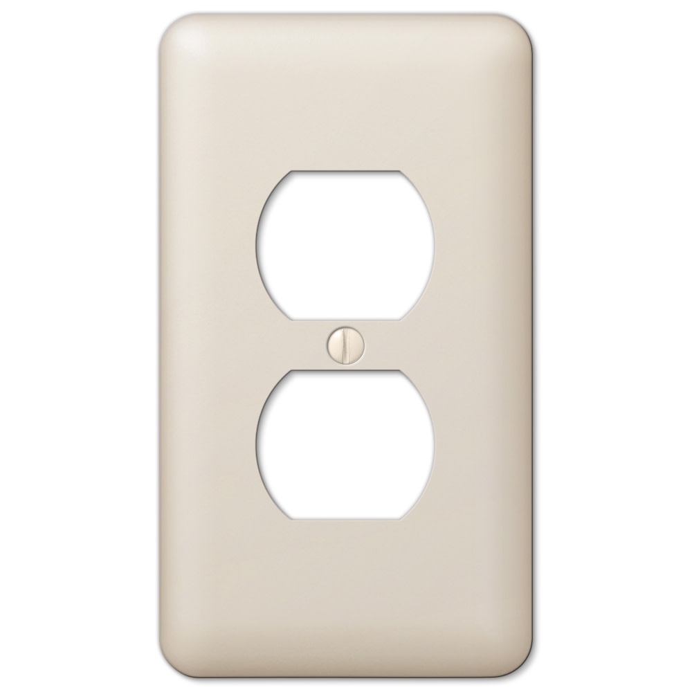 AmerTac White Landline Telephone Accessory Zenith TW1002CPW TW1002CPW Combination Wallplate