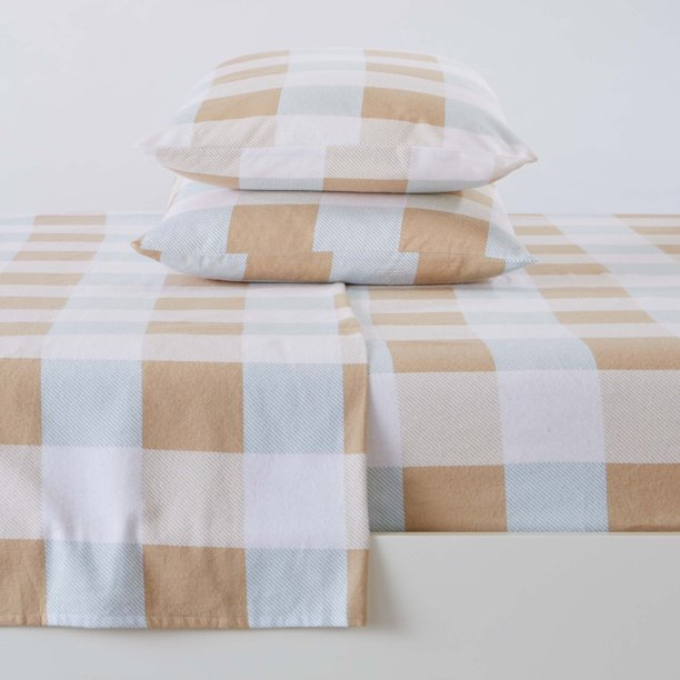 Great Bay Home Printed 100 Turkish Cotton Flannel Sheet Set Walmart Com Walmart Com