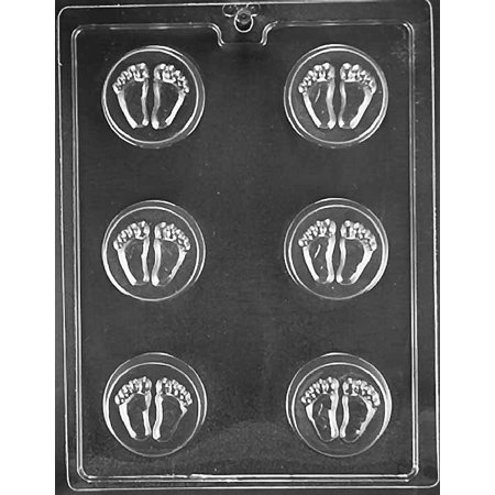 - Baby Feet Oreo Cookie Chocolate Mold Candy Soap Mould Shower Party Favors m14