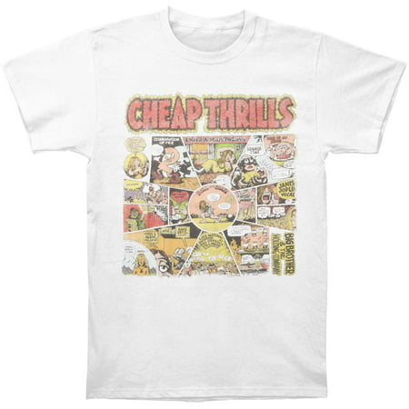 Big Brother And The Holding Company Men's  Cheap Thrills T-shirt (Big Brother And The Holding Company Tour Dates)