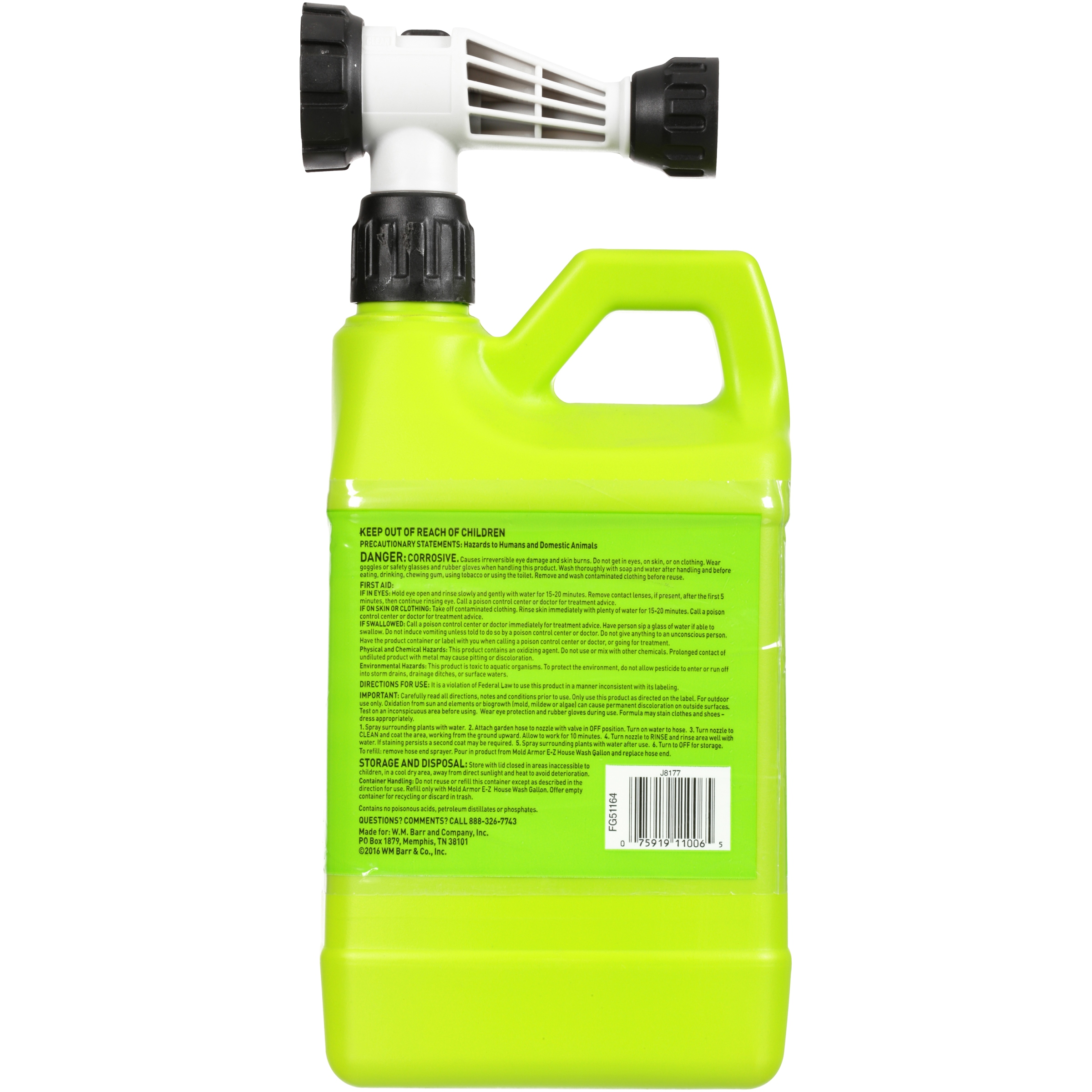 Mold Armor® E-Z House Wash 64 fl  oz  Jug