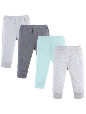 Tapered Ankle Pants, 4pk (Baby Boys or Baby Girls Unisex)