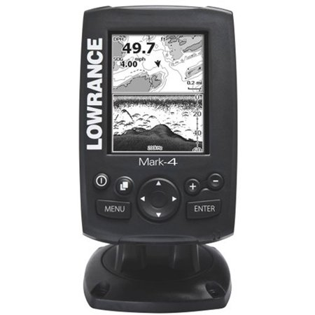 Lowrance mark mark 4 marine gps navigator for Walmart fish finder