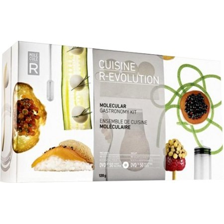 Molecule-R Molecular Gastronomy Kit - Cuisine R-Evolution Utensil (Best Molecular Model Kit)