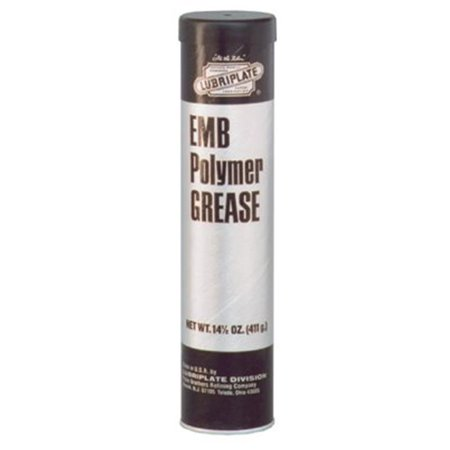 EMB High Speed Electric Motor Grease, 14 1/2 oz, Cartridge EMB High Speed Electric Motor Grease, 14 1/2 oz, CartridgeCompatible with seals, gaskets and plasticsDeveloped specifically for the lubrication of electric motor bearings, fans and other high-speed grease-type ball and roller bearingsProtects against rust and oxidation