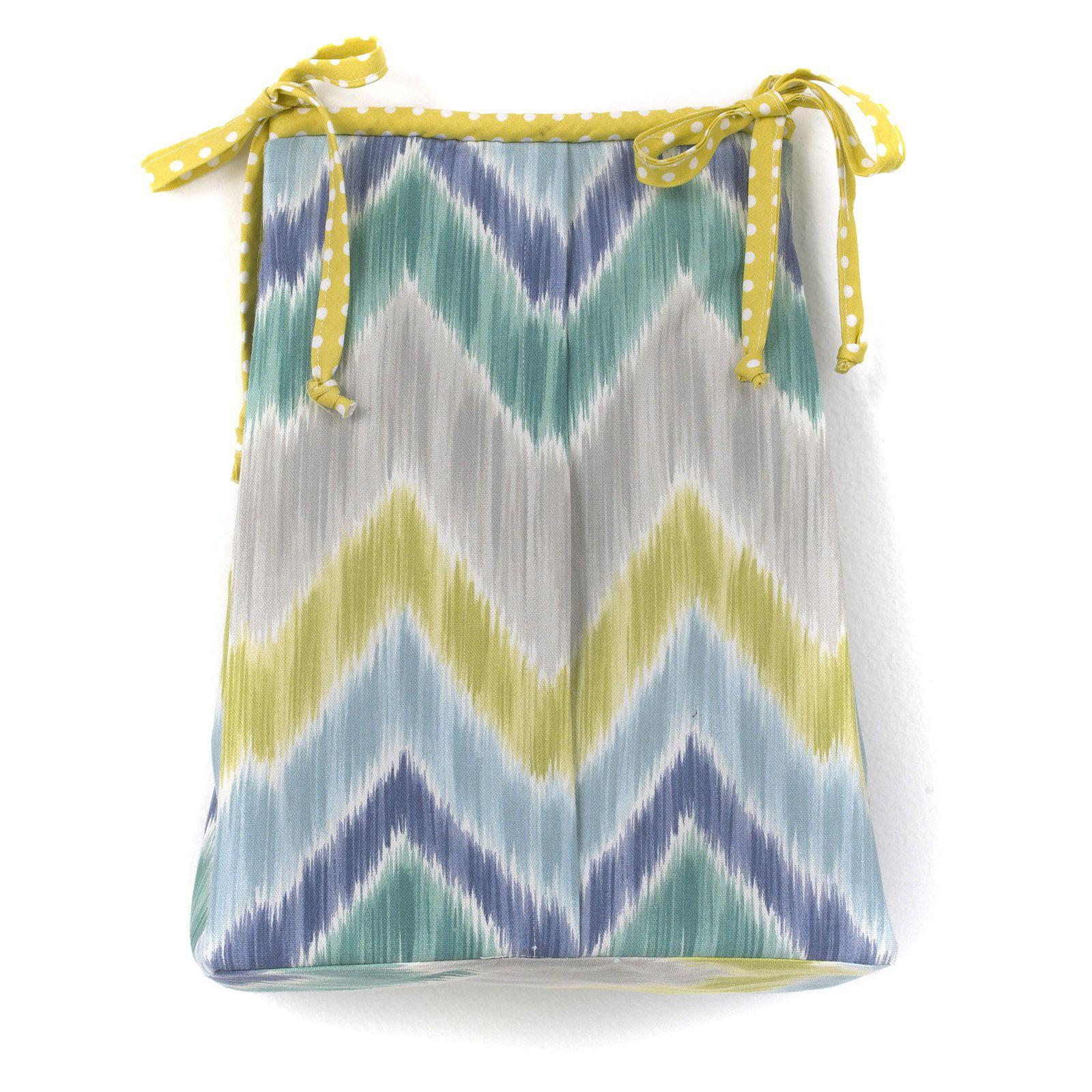 Cotton Tale Designs Zebra Romp Diaper Stacker by Cotton Tale Designs