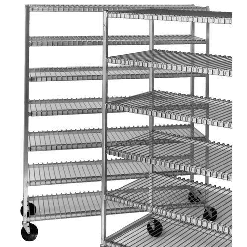 Channel Manufacturing Mobile Cooling 70.5'' H Seven Shelf Shelving Unit