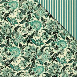 Bulk Buy: FabScraps Scapbooking (25-Pack) Floral Delight Double Sided Cardstock 12'X12' Floral Delight C74007