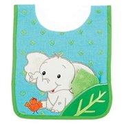 Elephant Pullover Bib w/Washcloth by AMPM Kids - 21021