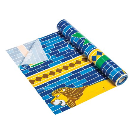 Fun Express - Babylon Vbs Table Roll - Party Supplies - Table Covers - Print Table Rolls - 1 Piece (Vbs Supplies)