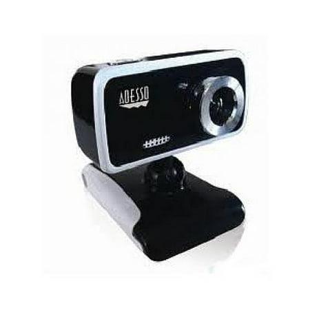 Adesso 1.3 Megapixels Desktop USB Webcam (CyberTrackV1)