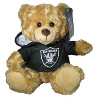 NFL 9 inch Rally Men Hoodie Bear, Oakland Raiders