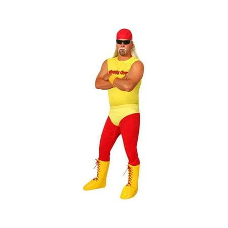 Adult 80's Wrestler Costume - Wrestler Halloween Costumes