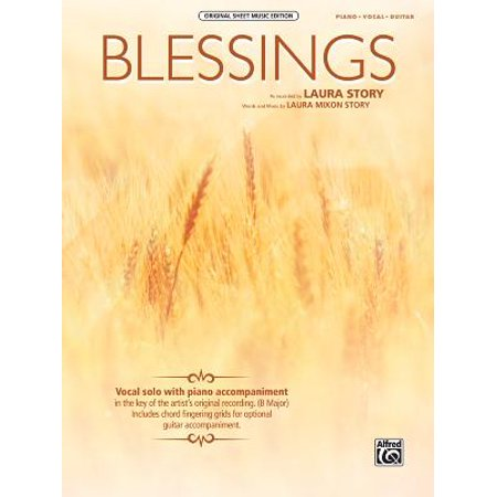 Blessings : Piano/Vocal/Guitar (Laura Story Blessings Cd)