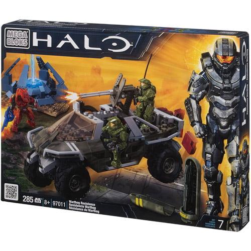 Mega Bloks Halo Warthog Resistance Play Set