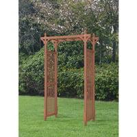 Convenience Concepts Mission Garden Arbor (Red Cedar)