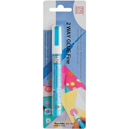 Zig MSB20M1P Zig 2-Way Glue Pen -Packaged-Fine Tip