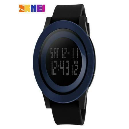 OkrayDirect Mens Rubber Band Digital Army Military Quartz Sport Wrist watch BU