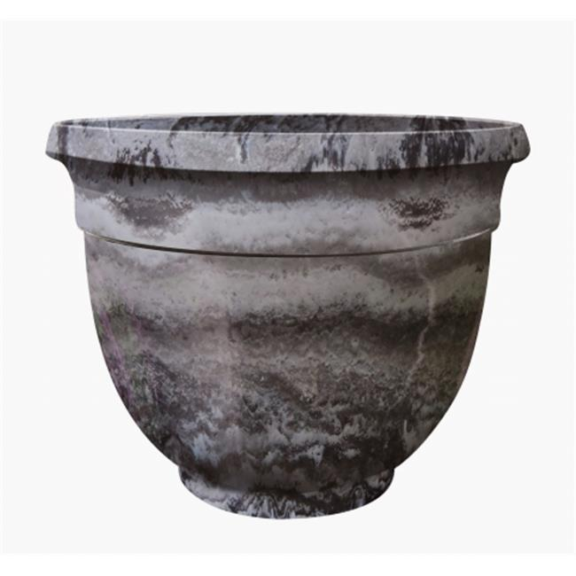 Austram-GriffithCreek 820114 Somes Planter Grey Marble - 18 x 14.5 x 8.5 in. - image 1 of 1
