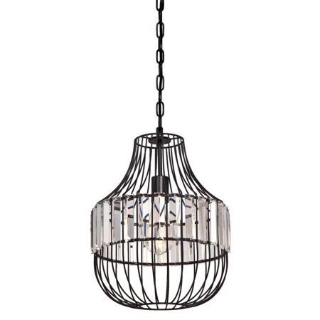 Crystal Cage (Westinghouse 6106300 Single Light 11-7/16
