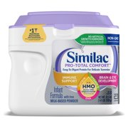 Similac Pro-Total Comfort Baby Formula For Immune Support, With 2'-FL HMO, 4 Count Powder, 1.41-lb Tub
