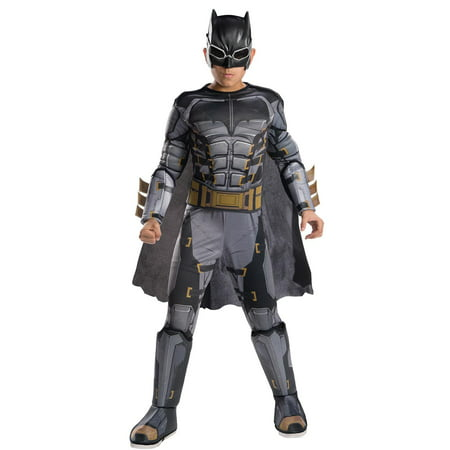 Justice League Movie - Tactical Batman Deluxe Child Costume M - Movie Costumes For Sale