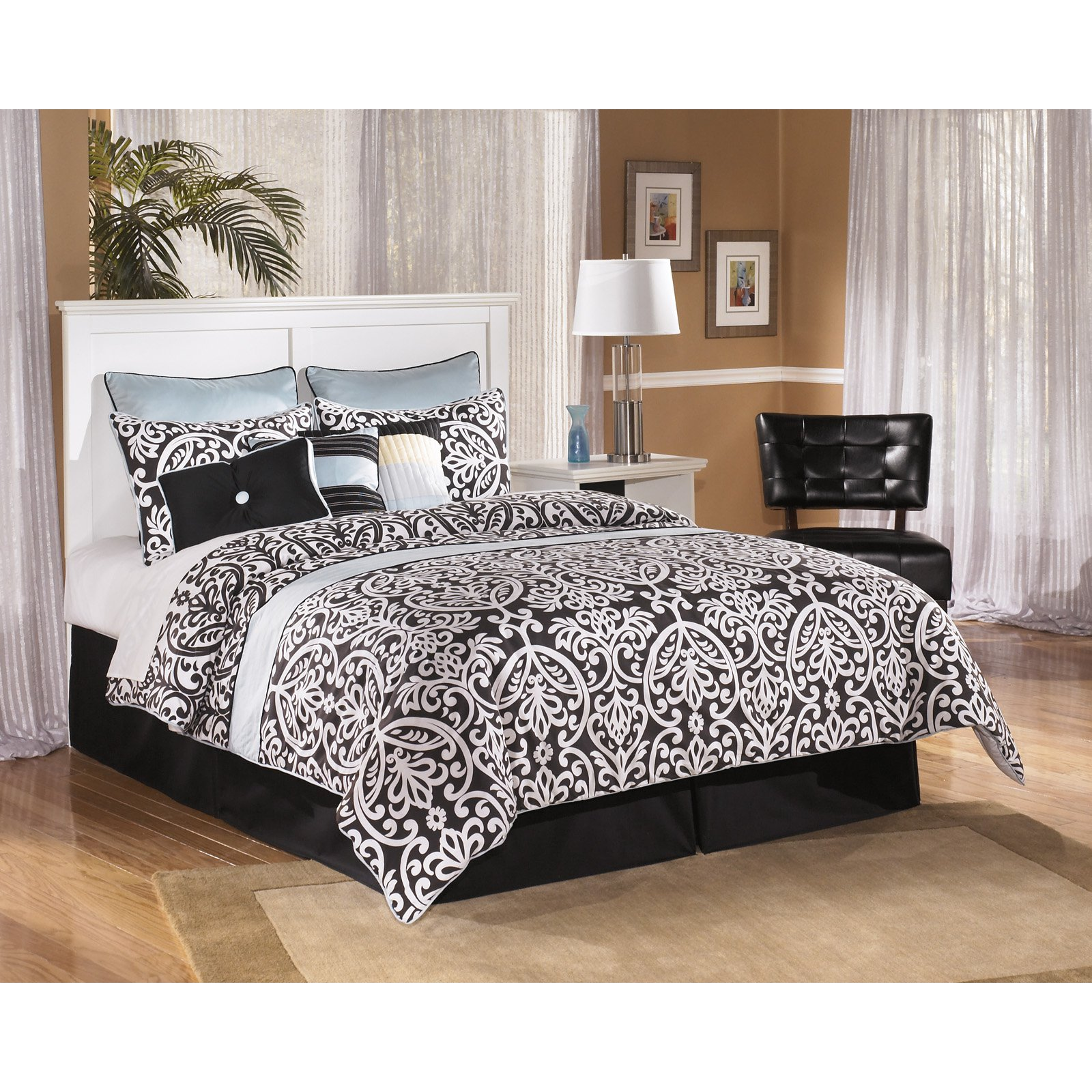 Signature Design by Ashley Bostwick Shoals Wooden Panel Headboard