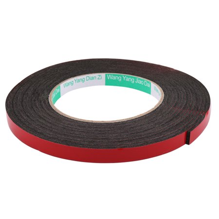 786a3dedd9 10mmx2mm Double Sided Sponge Tape Adhesive Sticker Foam Glue Strip Sealing  5M - image 1 of ...