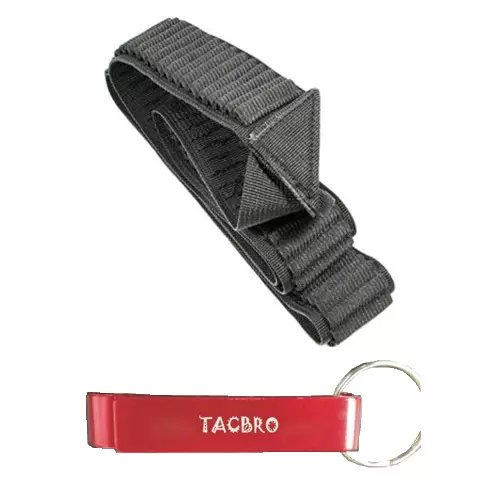 TACBRO .22 LR Shell Bandolier - 180 Round - 360 Total with One Free TACBRO Aluminum Opener(Randomly Selected Color)