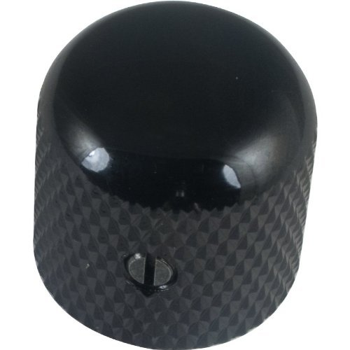 Dome Guitar Knob Black By Gotoh