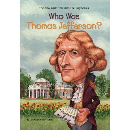 Who Was Thomas Jefferson? (Paperback)
